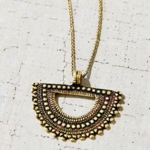 Urban Outfitters Mayan Medallion Necklace
